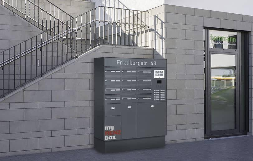 Boîtes aux lettres résidentielle