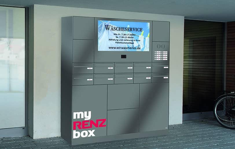 Boîte aux lettres résidentielle sécurisée RENZ