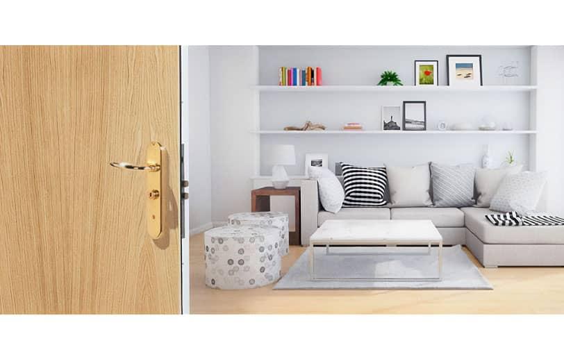 Porte d'appartement blindée POINT FORT FICHET