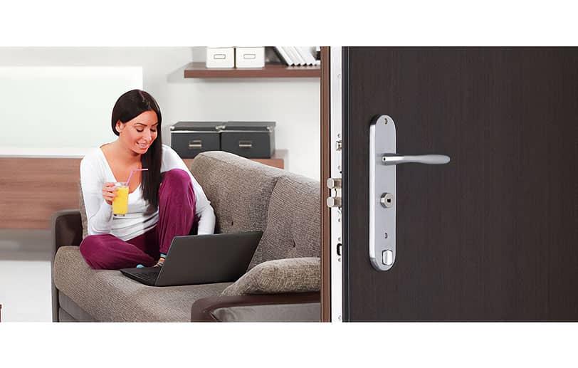 Restez serein chez vous grâce aux portes d'appartements blindés