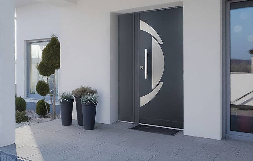 Porte de maison sécurisée POINT FORT FICHET