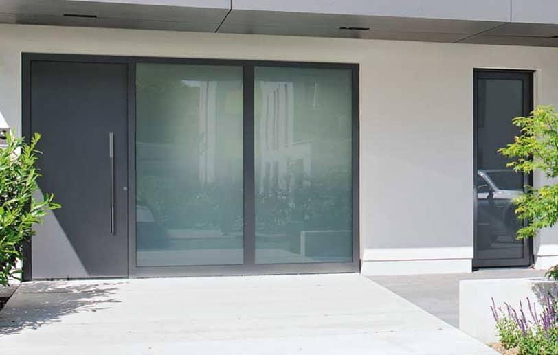 Porte de maison blindée