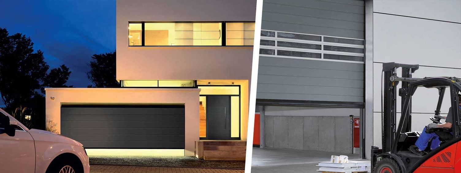 Protection de vos garages, des entrepôts avec des portes et volets sécurisées adaptées