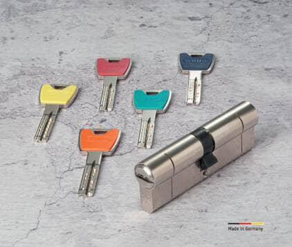 Verrou et clés de couleurs personnalisées ABUS